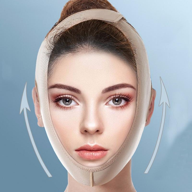 Back To Search Resultsbeauty & Health Punctual Delicate V Face Slimming Thin Mask Facial Massage Belt Facial Bandage Belt Health Care Lift Reduce Double Chin Slim Tool
