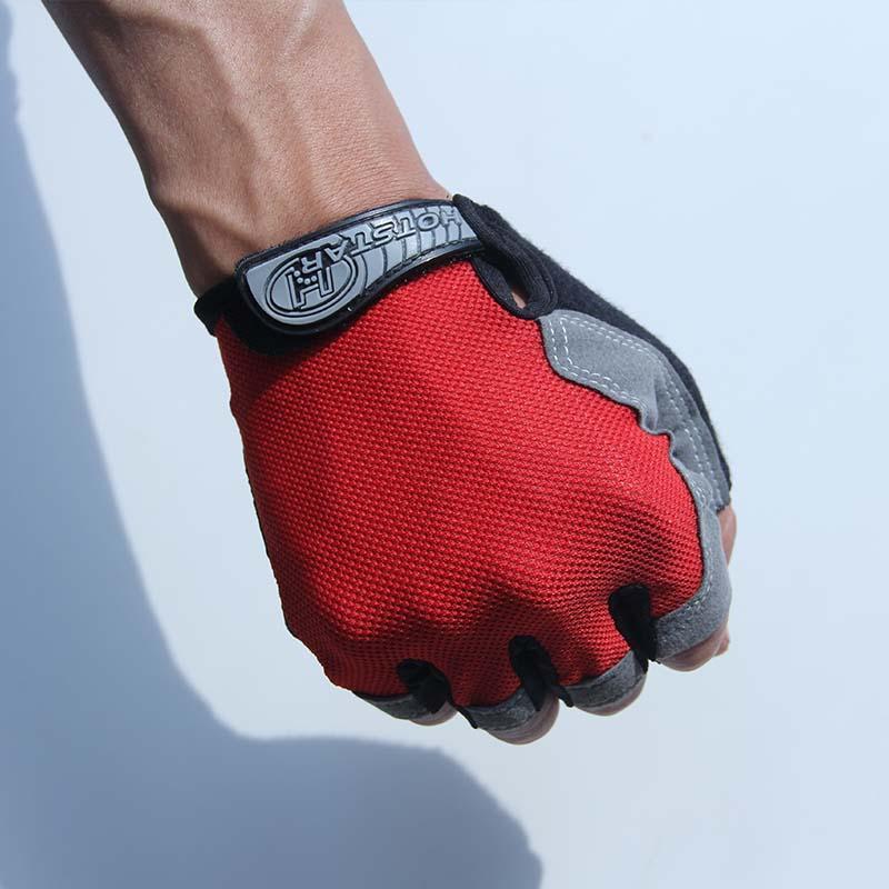 b972e3f3fdf898 Großhandel Outdoor Sports Half Finger GEL Handschuhe Für Männer Frauen Gym  Fitness Gewichtheben Bodybuilding Training Lauftraining Von Walon123, ...
