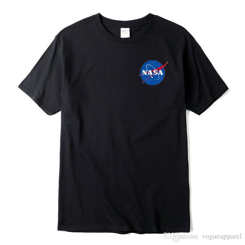 Men MA1 Tshirts NASA Fashion Tees Summer Casual Leisure Cool Short Sleeved Tshirt Tops