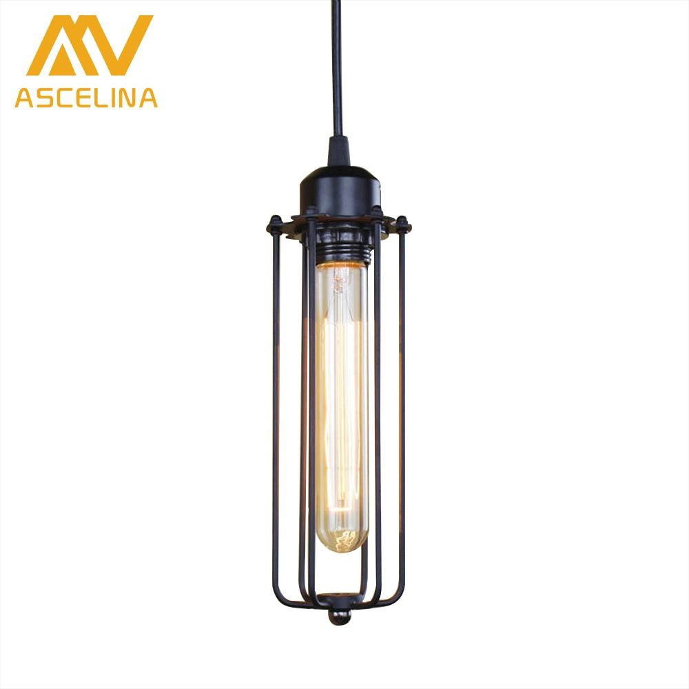 industrial style home lighting. ascelina american retro loft pendant lights industrial style led lamp home lighting bar restaurant cafe e27 light wrought iron plug in