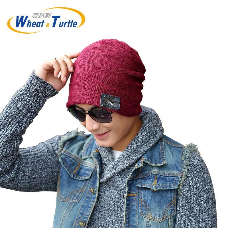 b3c06aead4c 2019 Apparel Accessories Men S Winter Hats Knied Wool Beanies Adult Hip Hop  Turban Caps Skullies Balaclava Hats For Women Gorros From Lvmangguo