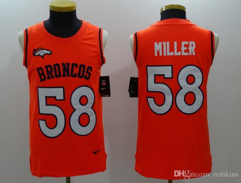 Women s Von Miller Jersey Broncos John Elway Emmanuel Sanders Case ... db705360a