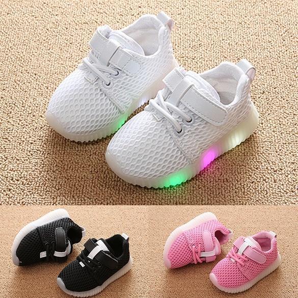 new concept e749b 34bee Fashion Led Light Schuhe 1-3 Jahre alt Baby Kleinkind Schuhe