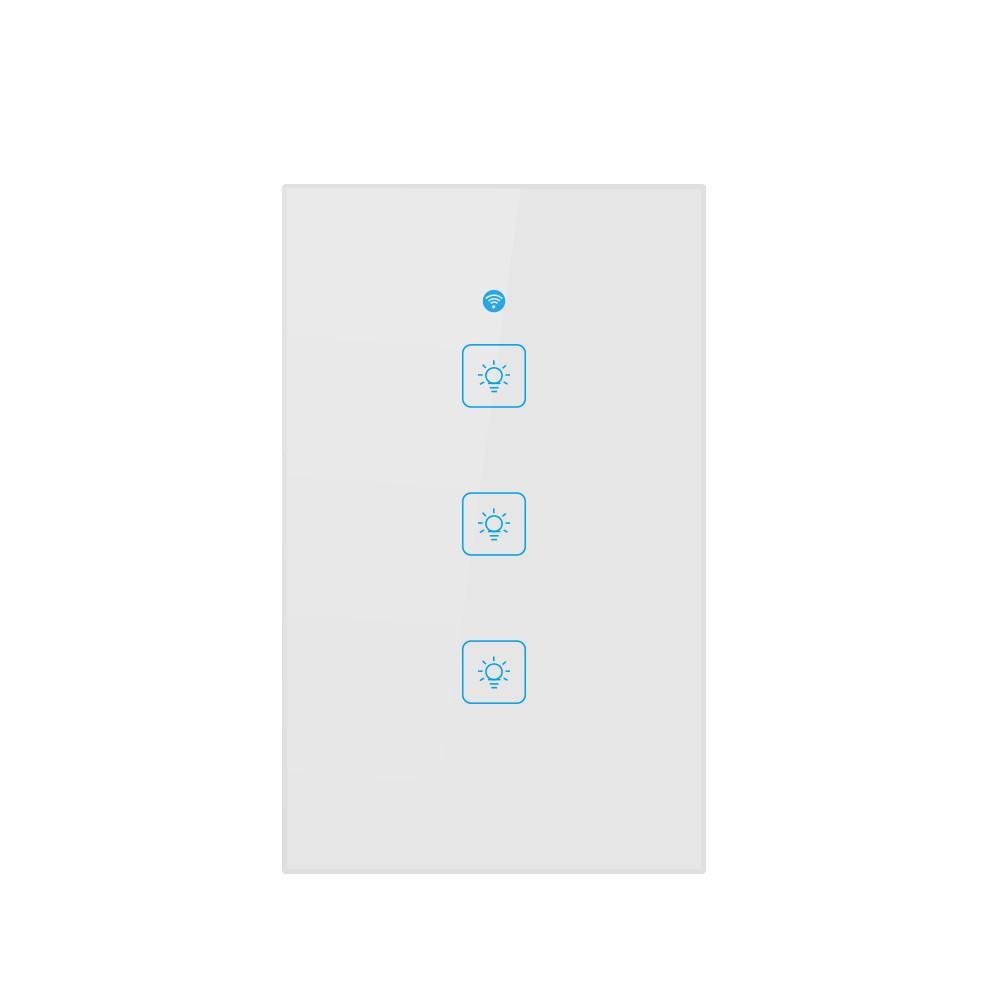 hiperdeal us smart wifi three way button switch for amazon alexahiperdeal us smart wifi three way button switch for amazon alexa google home app control 18oct27 remote light switch smart home systems from nori,