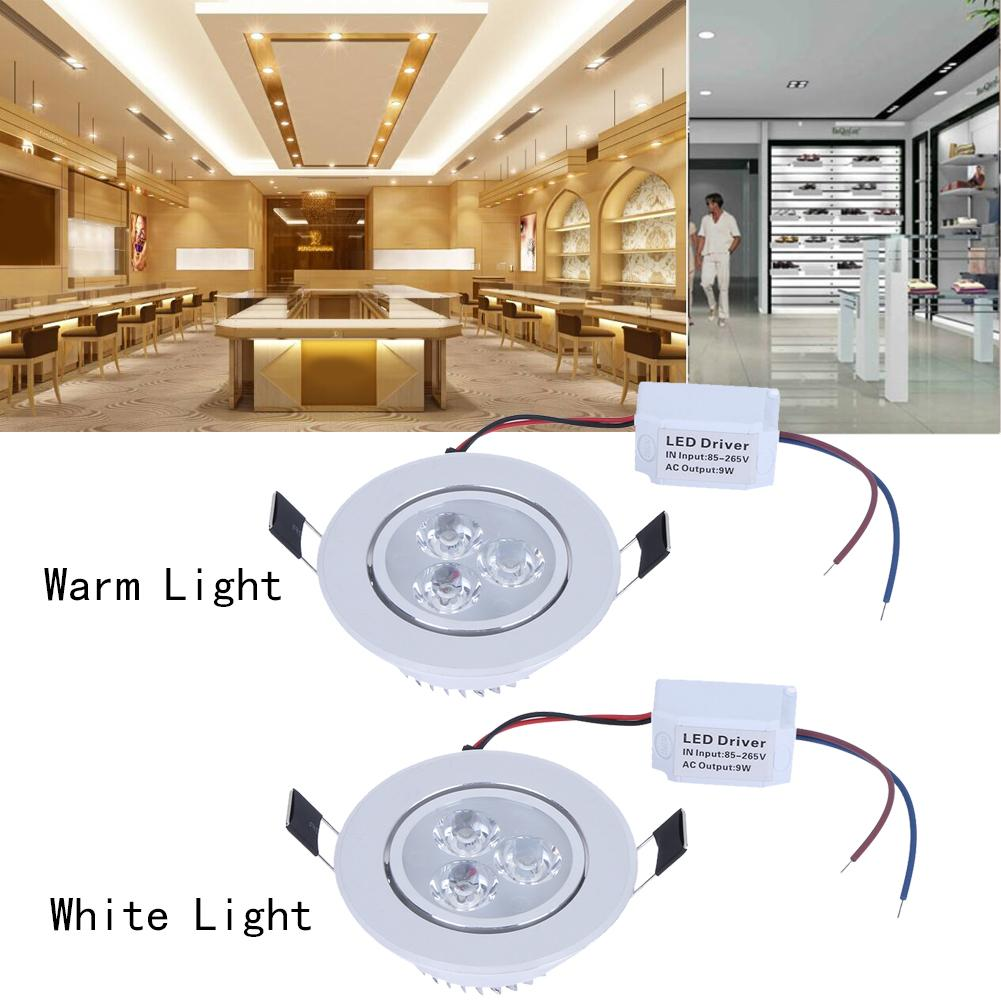 New Arrival LED Downlight Lamp 9w Home Ceiling Recessed Downlights ...