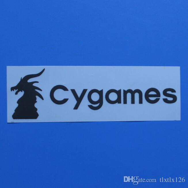 2018/2019 Cygames Sponsor for Serie A FONT soccer patch Cygames back Sponsor badge