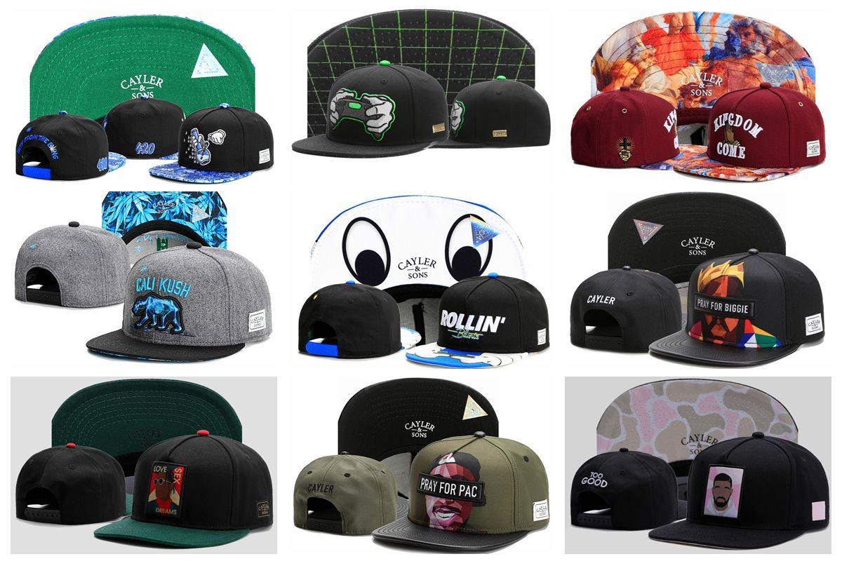 2018 New Gorras Planas Cayler   Sons Hip Hop Baseball Caps Snapback Hip Hop  Hats Men Hip Hop Swag Mens Snapbacks Men Hats Zephyr Hats From Lin19879 6325cf57468