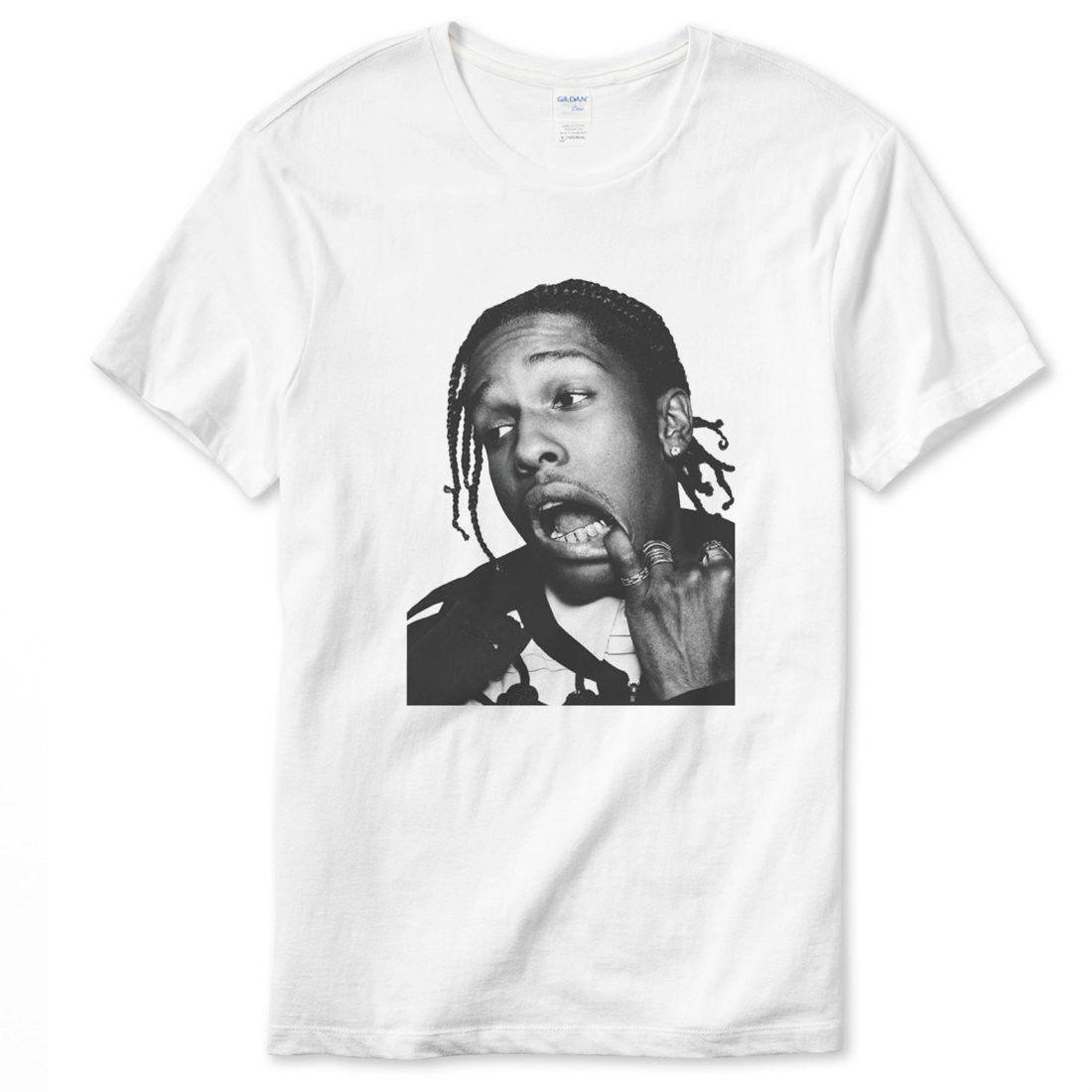 f40b9cfc148 ASAP Rocky Rap Hip Hop T Shirt Humor Shirts Offensive T Shirt From  Thegoozler