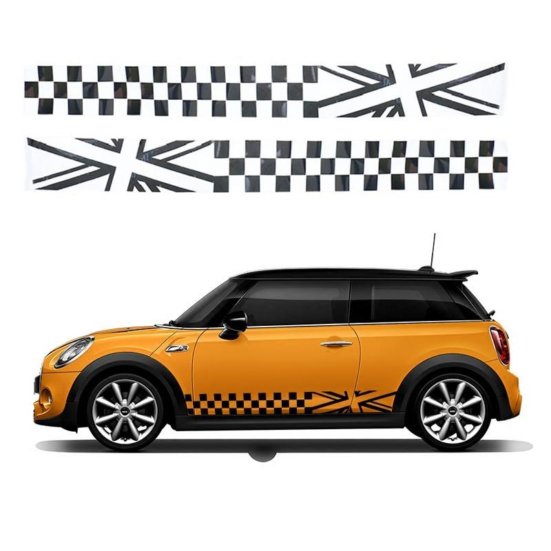 2019 Side Skirt Body Car Decals Sticker For Bmw Mini Cooper S One