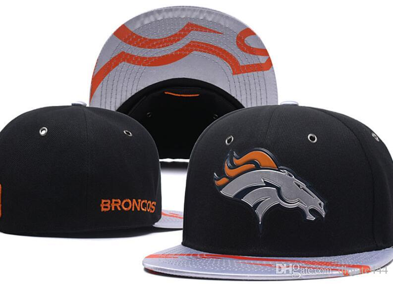 National Team Fitted Broncos Hats Baseball Embroidered Team Letter Flat  Brim Hats Baseball Size Caps Sports Chapeu For Men Women Richardson Caps  Customized ... afbcbac0750