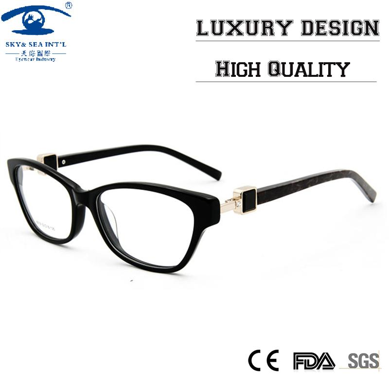 2018 High Quality Custom Butterfly Eyeglass Frames With Rhinestones ...