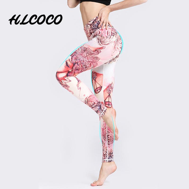 Acheter 12 Constellation Printed Yoga Pants Femmes Fitness Séchage Rapide  Élastique Sports Collants Fitness Sport Leggings Pantalon De Jogging Yoga S  Xl De ... 8e7b86a1066