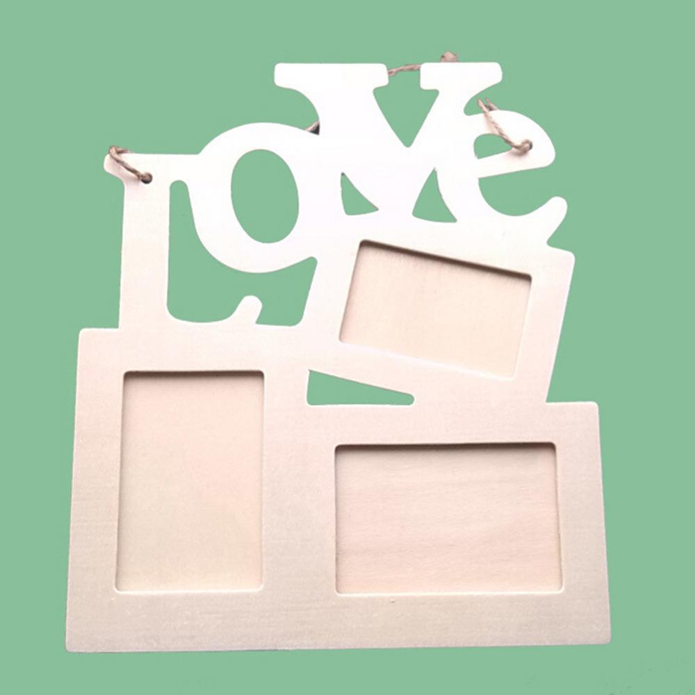 2019 Vintage Hanging Love Photo Frame Diy Wall Hanging Photo Picture