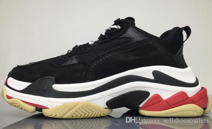 df94d7f8aca3 New Fashion Paris Triple-S Shoes Sneaker Triple S Casual Luxury Dad ...