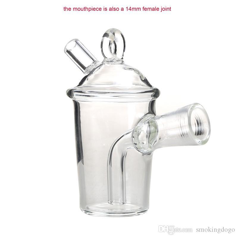 Rauchen Dogo 2017 Einzigartige Verschiedene Form Martian Blunt Bubbler Mini Bongs Wasserpfeifen Kleine Rohre Gemeinsame Bubbler Glas Rauchen Bubbler BB-071
