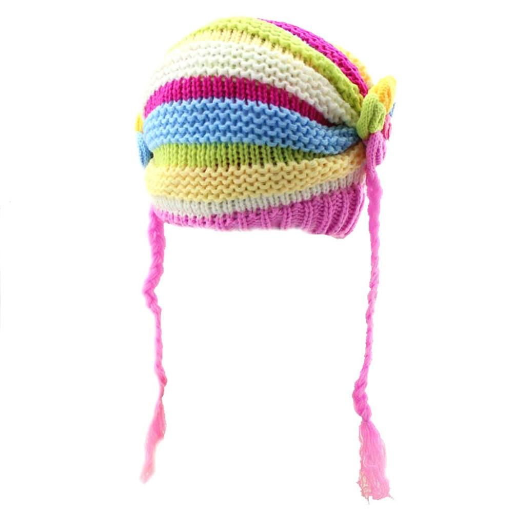 Cute Baby Hat Children Winter Hats For Girls Boy Kids Cotton Thick ... e1a446515c9
