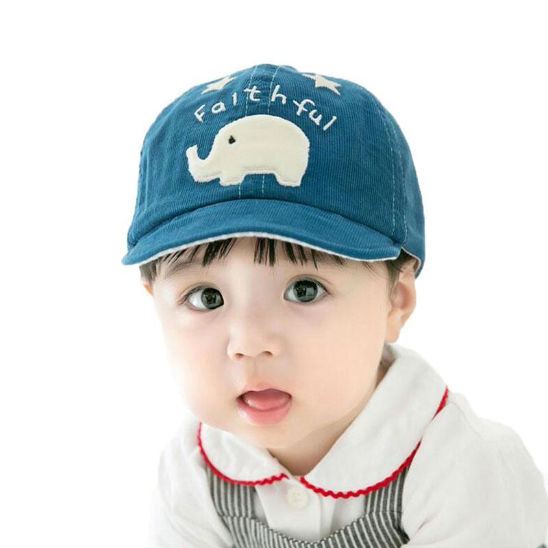 Unisex Baseball Cap Cartoon Elephant Patch Hat Kids Spring Autumn Corduroy  Casquette One Size Adjustable Child Soft Brim Caps Cool Hats Lids Hats From  Ekkk 87e32cec458