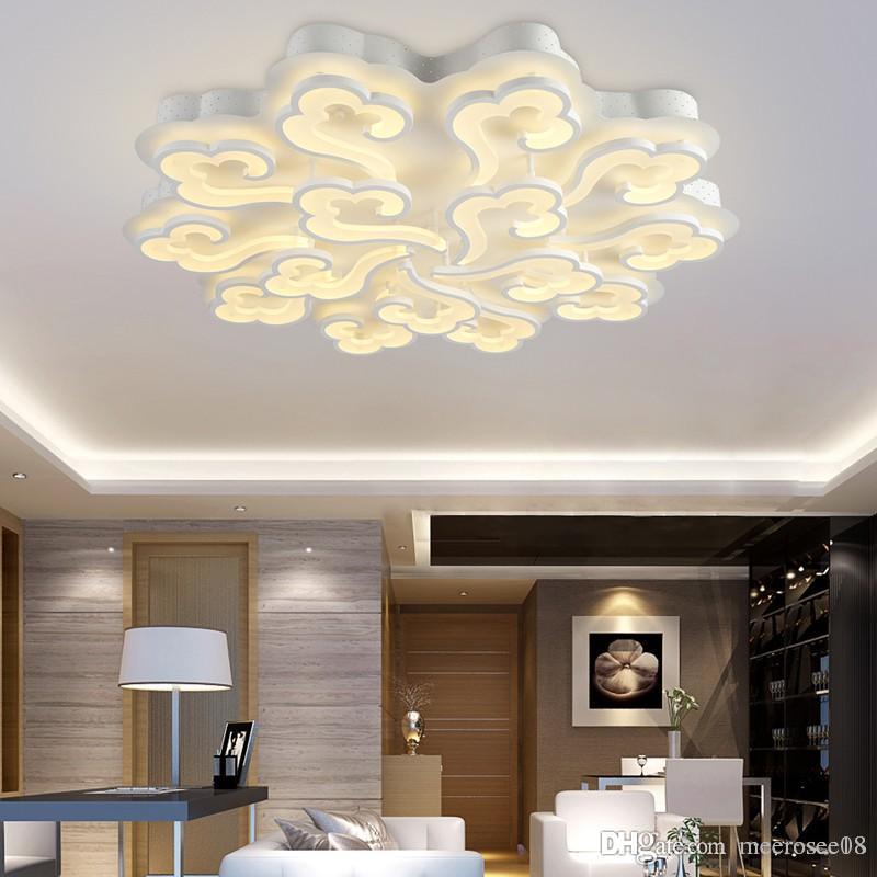 Moderne LED Deckenleuchten für Wohnzimmer Schlafzimmer Deckenleuchte Acryl  LED Deckenbeleuchtung Lamparas de Techo Home Decor
