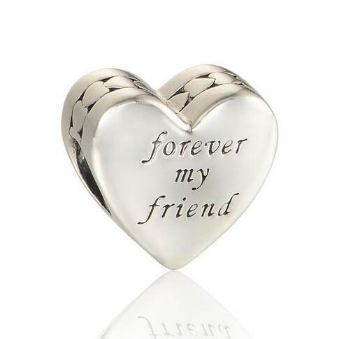 80115278c 2019 Silver Heart Charms First My Mother Forever My Friend Charm 925  Sterling Silver Jewelry Beads Fit Pandora Bracelet DIY From Haijing2005, ...