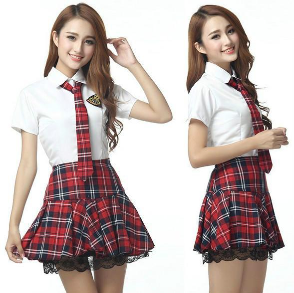b244b42b892 Plus Size 3XXXL Lingerie Sweet School Girl Erotica Cosplay Sexy ...