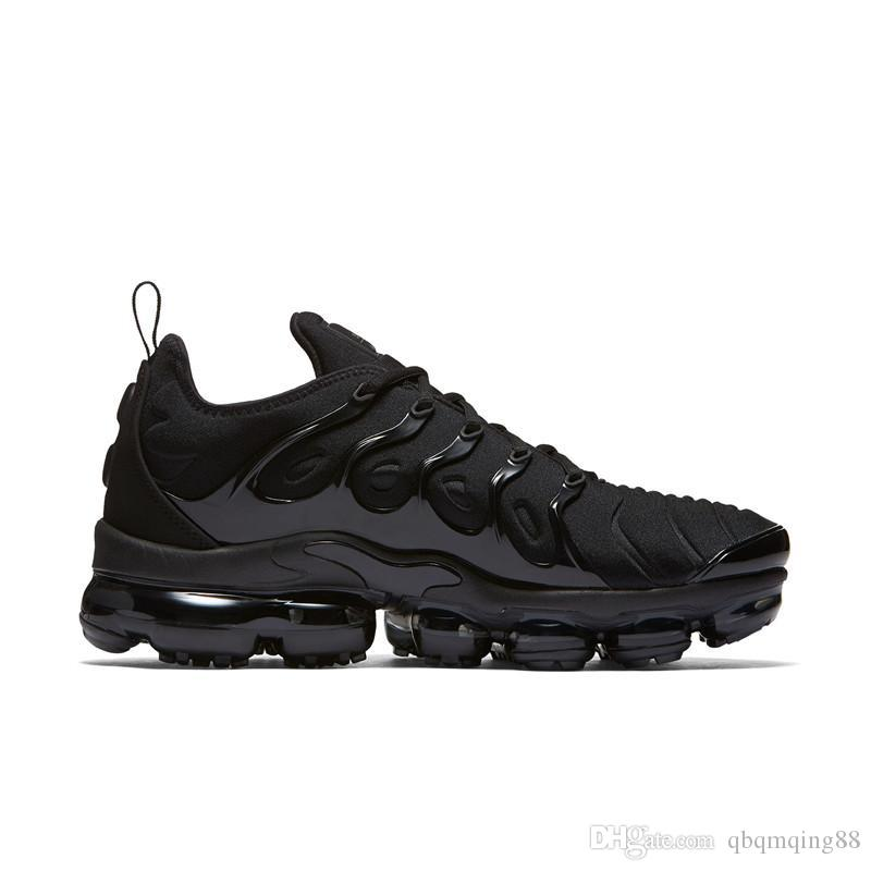 fashionable for sale [With Box] 2018 Vapormax 270 TN Plus Running Shoes Classic Outdoor Run Shoes Vapor tn Black White Sport Shock Sneakers Men Olive Silver good selling Grey outlet store online big sale cheap price Xt338mH