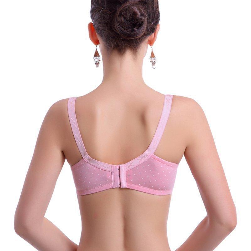 Femmes Floral Bra Underwear Allaitement Allaitement Allaitement Allaitement