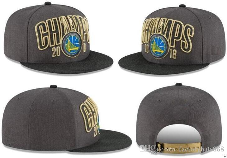 2018 Finals Champions Warriors Champs Adjustable Snapback Hats Headwear Caps  002 Neweracap Cap Hat From Factoryhats888 94faded7dfe