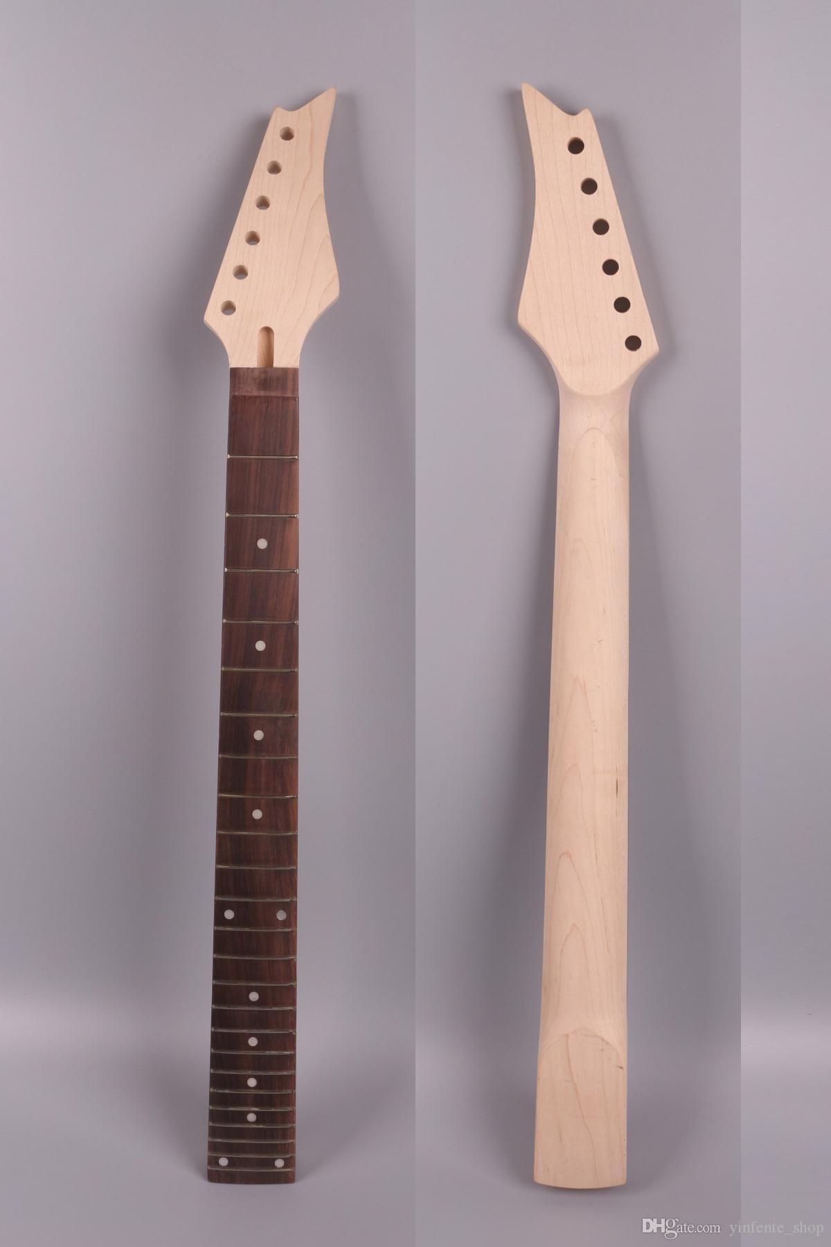 Guitare électrique Pièces de rechange de manche 24 frettes 24.75 pouces / 25.5