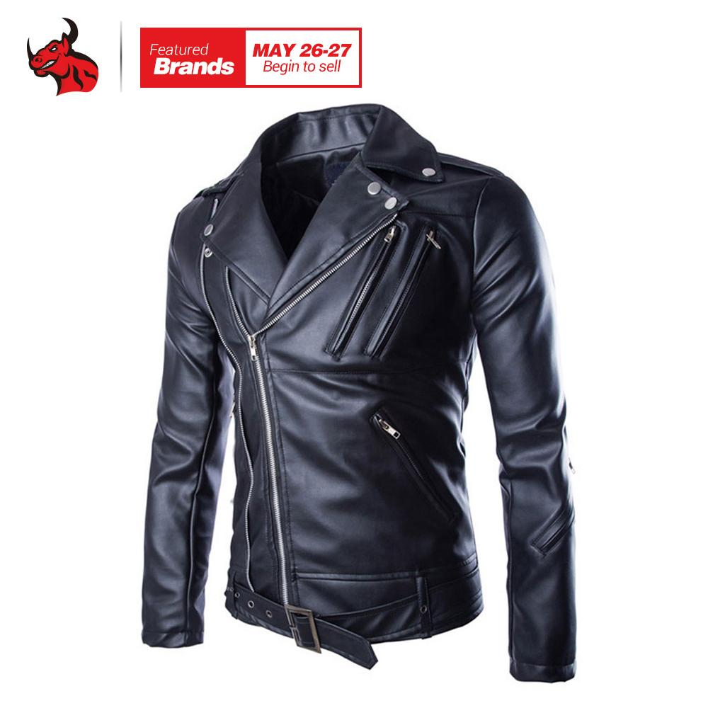 2019 Motorcycle Jackets Mens Classic Vintage Retro Motocle Jacket