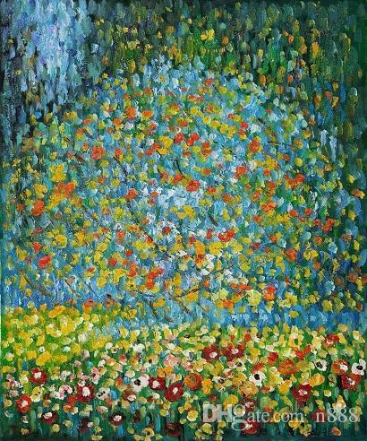 Satın Al ünlü Gustav Klimt Elma Ağacı I Handpainted Hd Baskı Soyut