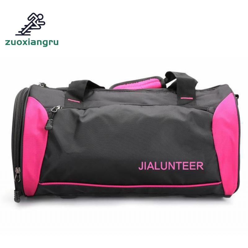 c33717f5b5a1 Men Gym Bag Women Fitness Travel Handbag Outdoor Separate Space For ...