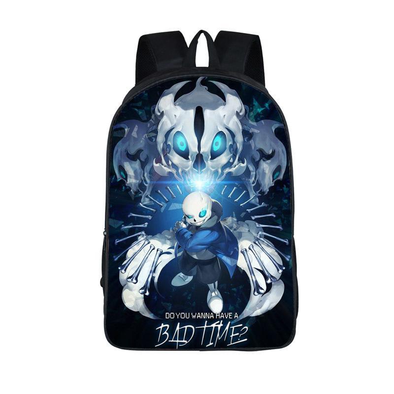 855c48d372 Anime Undertale Backpack For Teenage Girls Boys Book Bag Sans Women Mochila  Men Travel Bag Undertale Children School Backpacks Y1890302 Tool Backpack  Best ...