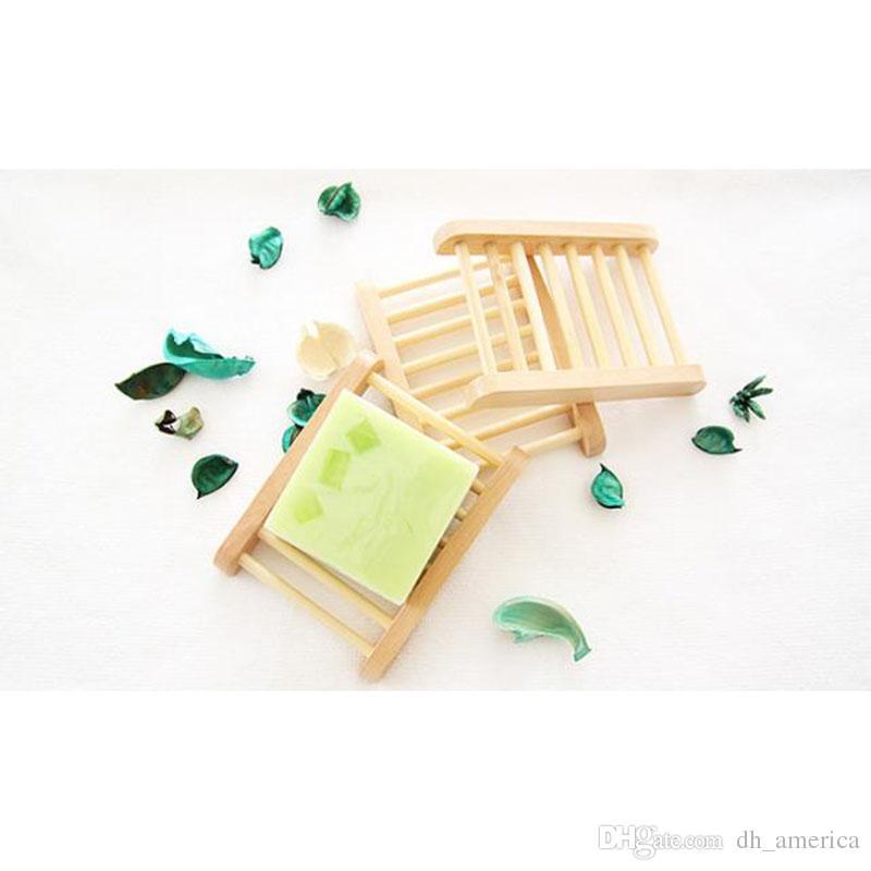 Großhandel Kreative Natürliche Holz Seifenschalen Holz Seifenschale ...
