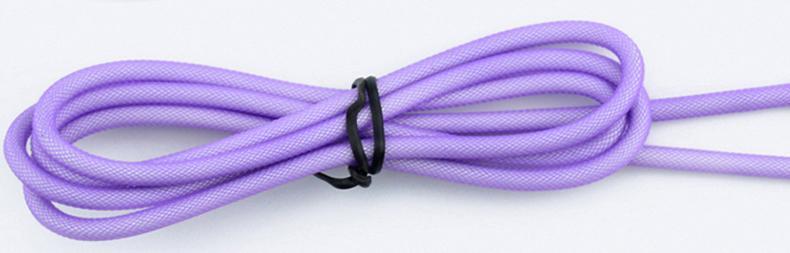 3M / 2M micro tela 5pin red trenzada de metal cabeza de metal cable de cable de datos usb micro para samsung huawei teléfono inteligente