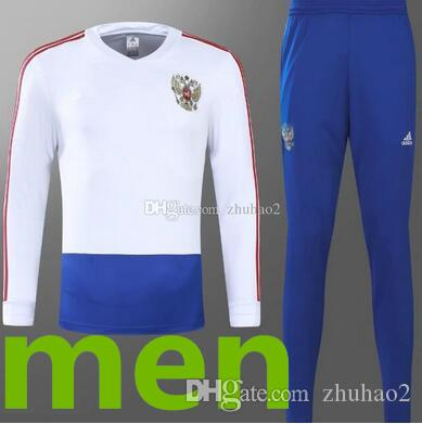 7523f481153 2019 2018 World Cup Russia Football Training Suit Long Sleeve Soccer  Sportswear Men'S Long Sleeve Soccer Ball Suit From Zhuhao2, $29.35 |  DHgate.Com
