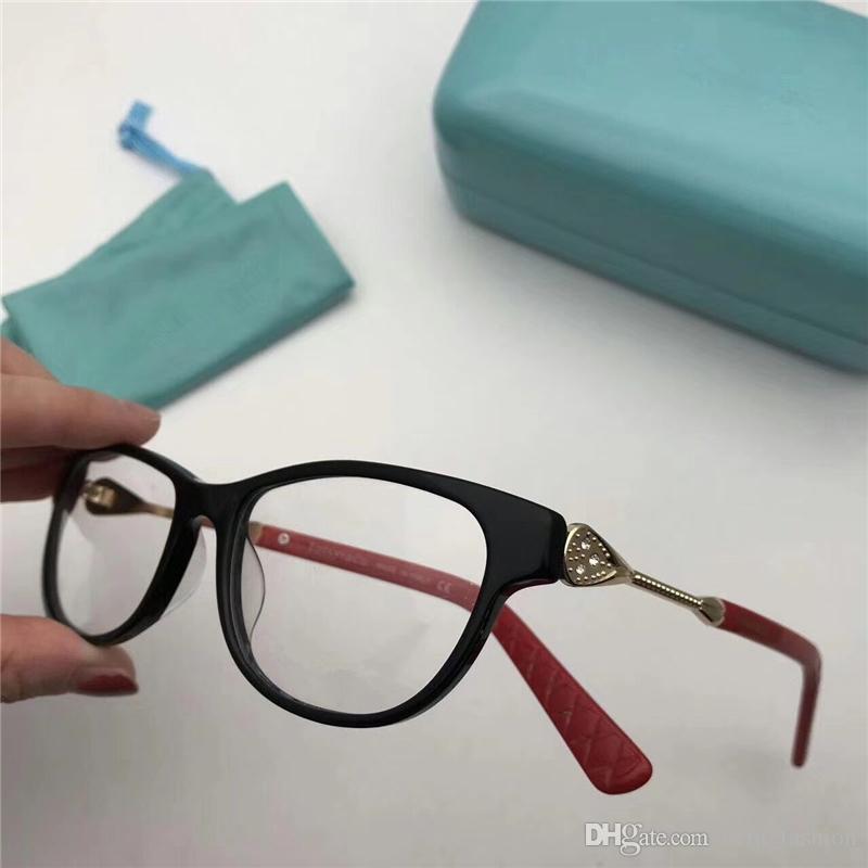 Compre 2018 2148s Marca Miopía Marco De Cristal Tf Gafas Ópticas ...