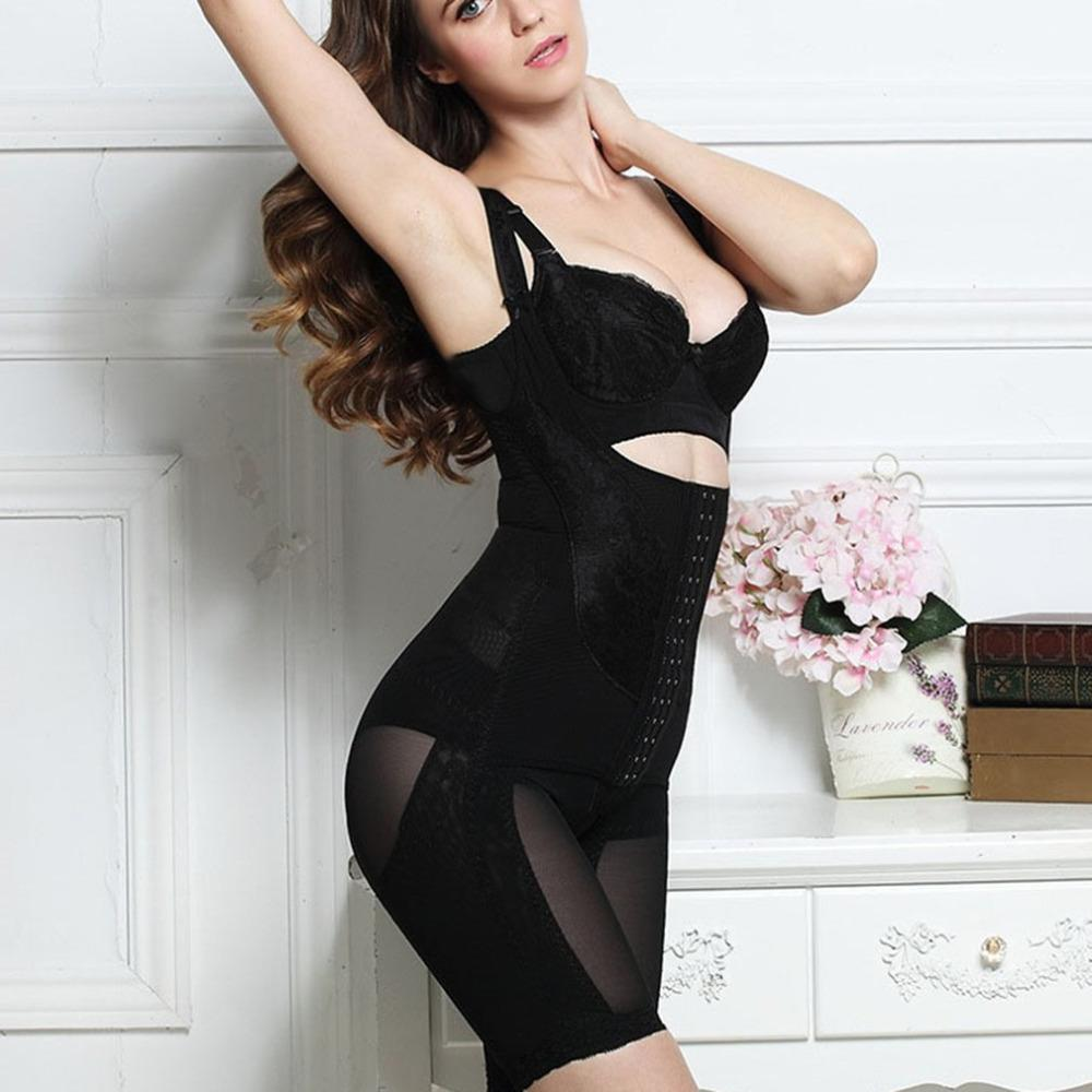 a580884a03 2019 New Women Shapewear Sexy Bodysuit Waist Shaper Lady S Tummy Control  Firm Bodyshaper Seamless Open Bust Slimmer Corset Trainer From Rykeri