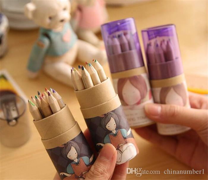 Secret Garden Coloring Pencils Enchanted Forest Painting Pens Colored Pencils Creative Writing Tools Colouring Pencils C023