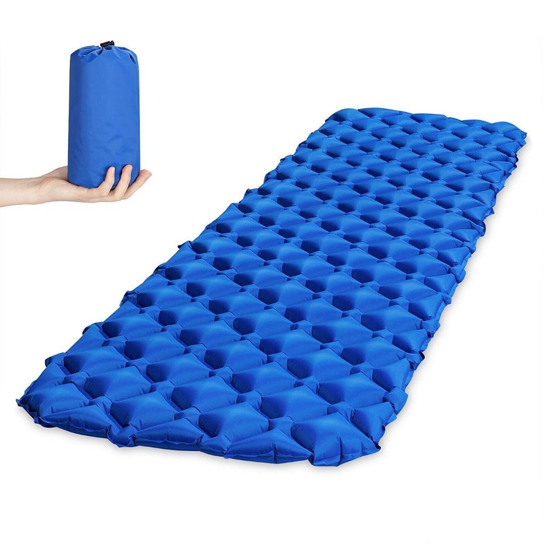 Materasso Gonfiabile Per Dormire.Materasso Gonfiabile Per Tenda Cuscino Per Dormire Ultraleggero Portatile Materassino Da Campeggio Impermeabile All Umidita