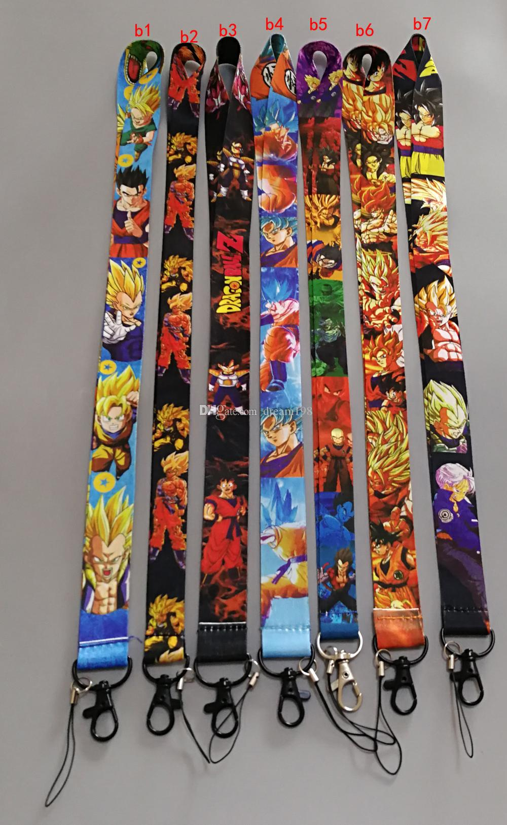 New Style Mixed One Piece Naruto Lanyard For Cell Phone Lanyards ... 75f4ca143