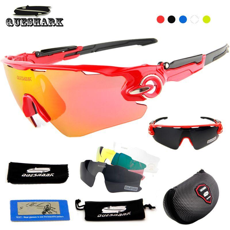 9d500f5807e 2019 Queshark Men Women Polarized Cycling Sunglasses Bicycle Goggles Bike Glasses  UV400 TR90 3 Lens Tour De France Cycling Eyewear From Enjoyweekend