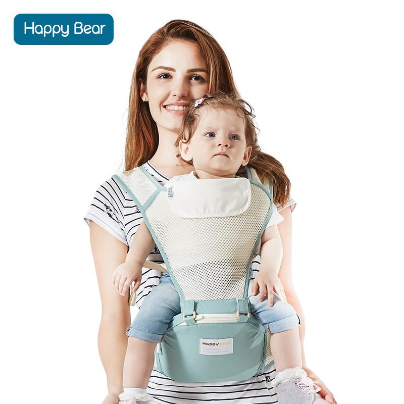 2018 Happybear Baby Carrier Wrap Mesh Breathable Kangaroo Travel