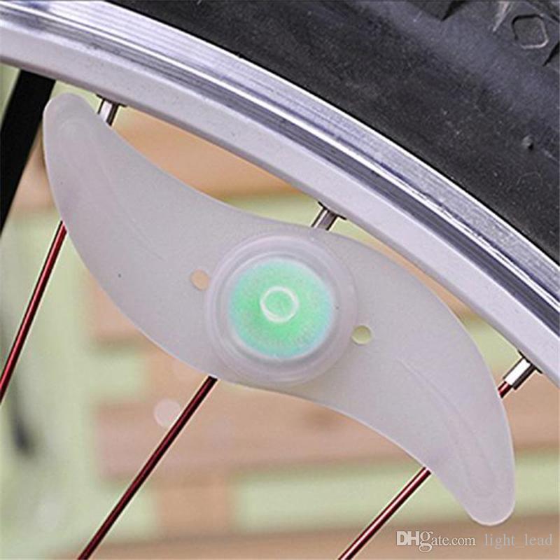 Elektronische Bedienung LED-Blitz Reifen Licht Fahrradspeichen Lampe Radfahren Fahrrad Willow LED Rad Draht Lichter