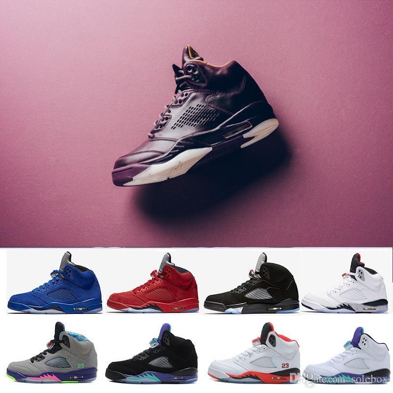 Olympic Nero Metallizzato Uomini Premium Rosso Camo Sportive Bordeaux Fuoco Basket Camoscio Da Blu Metallico Scarpe Nuovi Og Sneakers 5 xBCeroWd