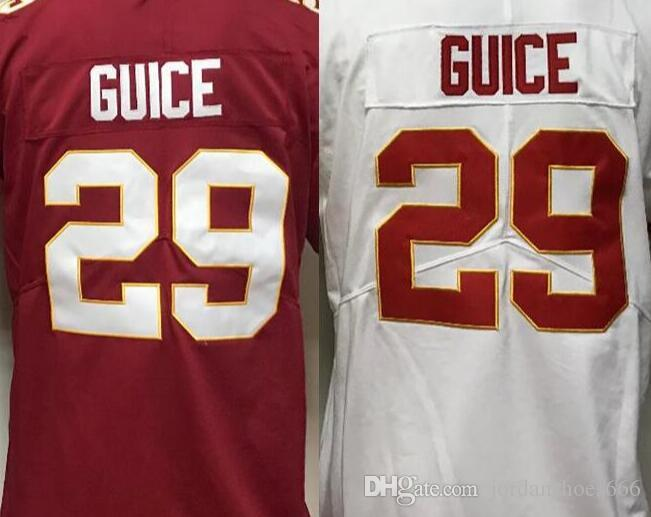 2019 Men  29 Derrius Guice Jersey Male Embroidery And 100% Stitched 2018  Limited American Football Jerseys From Jordanshoes666 79a0e0aac