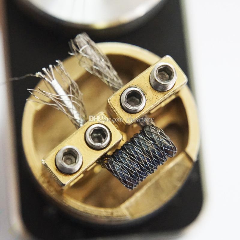 Pirate Raging fire coil Premade Coils 0.18ohm Ni80 Matériel Cigarette électronique Accessoires Fit DIY RDA Atomiseurs RTA DHL Gratuit