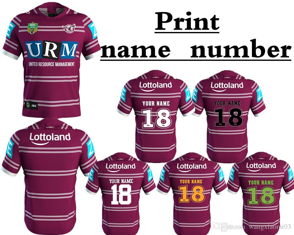 Wholesale Best Quality Best Use 2018 Manly Sea Eagles Home Jersey Nrl  National Rugby Manly Sea 2fd6cdf95