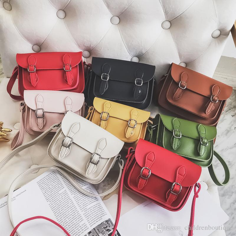b91d0aaf91a9 Kids Purse Child Designer Bag 2018 Spring Fashion Mother And Daughter  Messenger Bags PU Cross Body Bag Handbags Girl Mini Bags Inge Purses  Toddler Crossbody ...