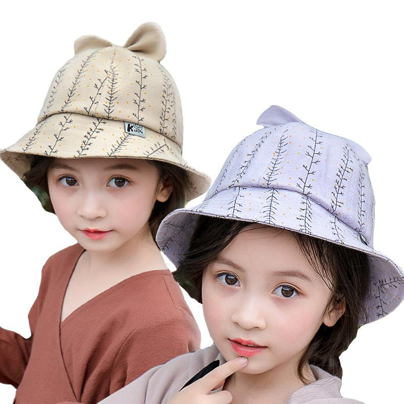 2019 New Baby Fisherman Hat Boy And Girl Baby Pot Cap Summer Visor Spring  And Autumn Bow Sun Hat Beanies Kids Photography Props From Cover3085 5facd761b13