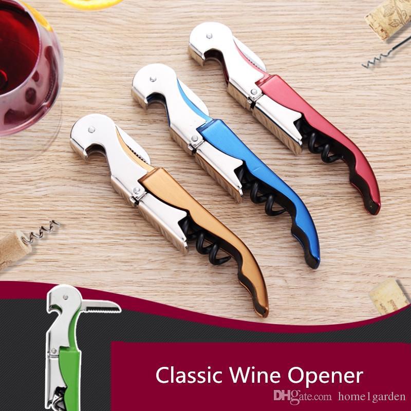 다기능 스테인레스 스틸 와인 맥주 병 오프너 해마 디자인 코르크 스크류 나이프 홈 오피스 바